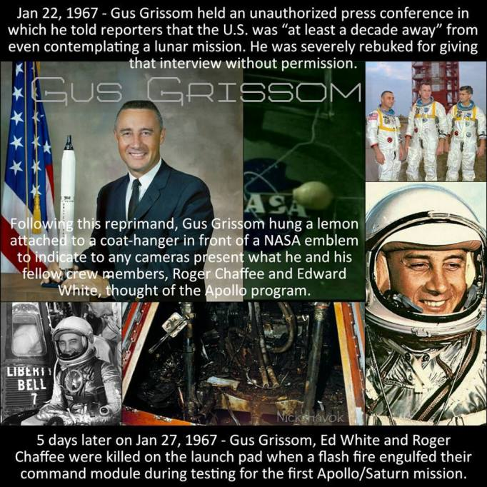 Gus Grissom murdered by NASA